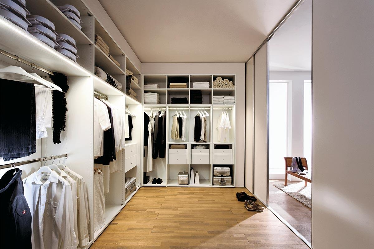 FLEXX – walk in wardrobe