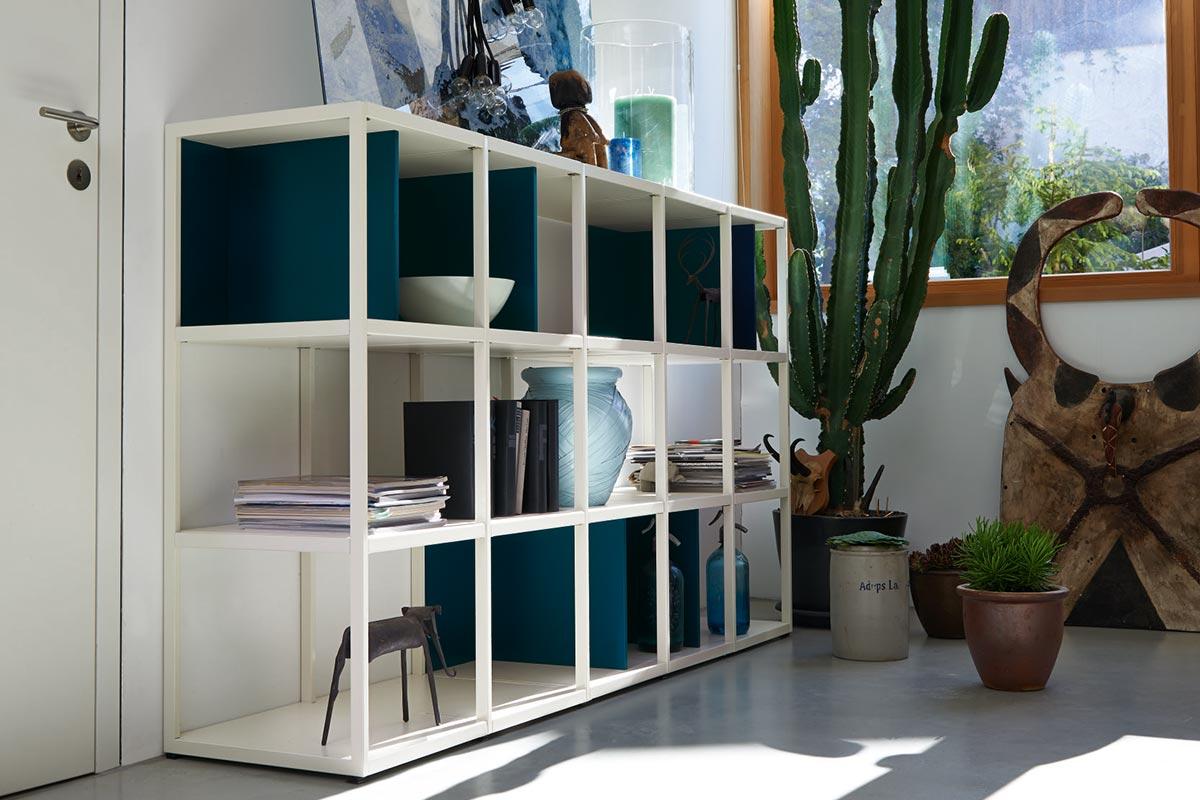vision rahmen system regal h lsta designm bel made in germany. Black Bedroom Furniture Sets. Home Design Ideas