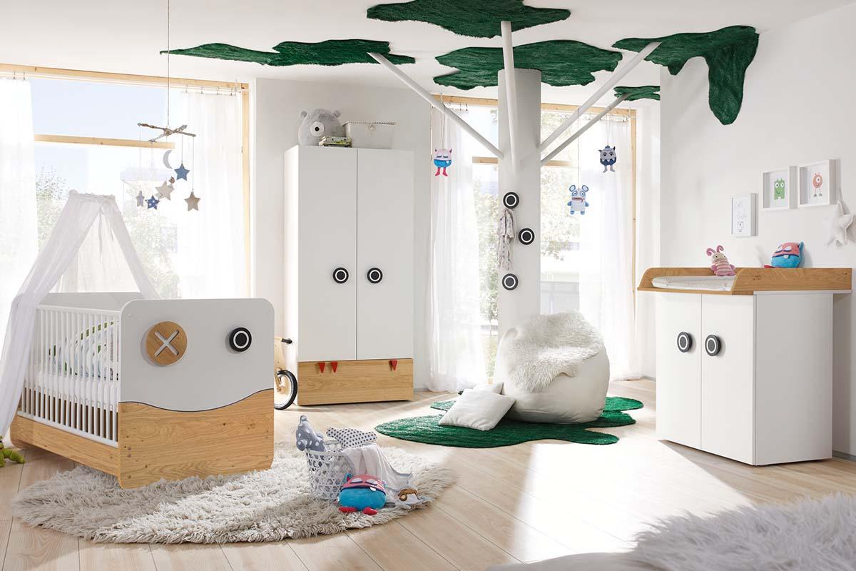 now! by hülsta minimo Kinderzimmer Schneeweiß
