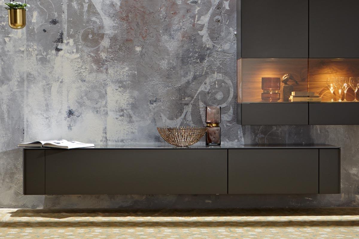 gentis lowboard h lsta designm bel made in germany. Black Bedroom Furniture Sets. Home Design Ideas