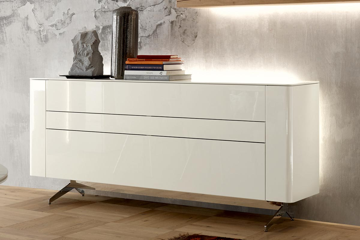 gentis sideboard h lsta designm bel made in germany. Black Bedroom Furniture Sets. Home Design Ideas