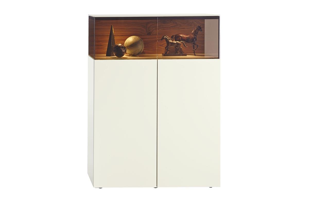 Gentis Small Glass Cabinet Hulsta Design Furniture
