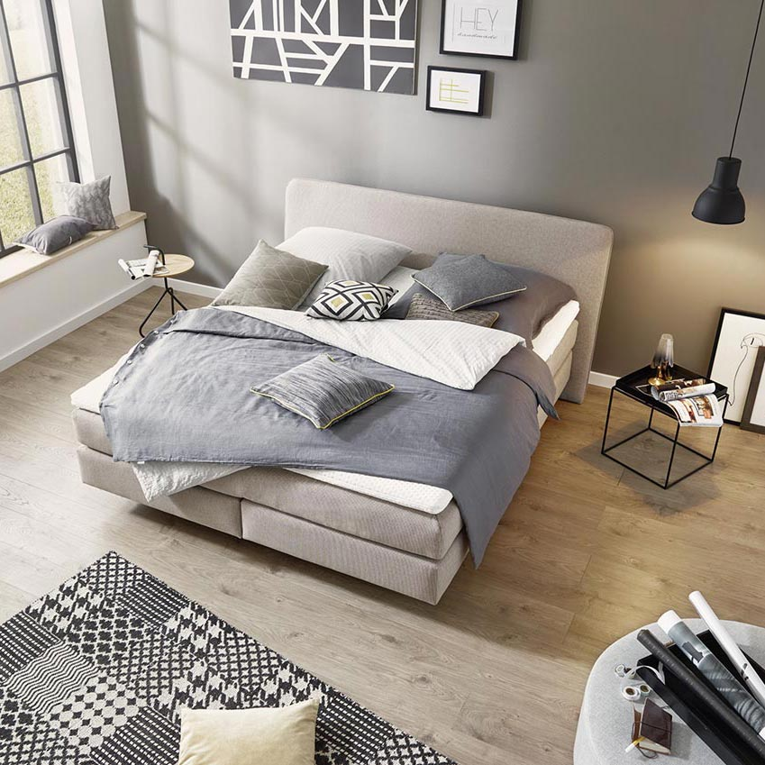 now by h lsta boxspring h lsta designm bel made in germany. Black Bedroom Furniture Sets. Home Design Ideas