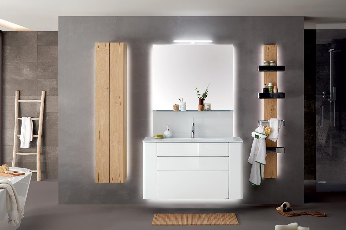 GENTIS – Familienbad Design A mit Akzentelement