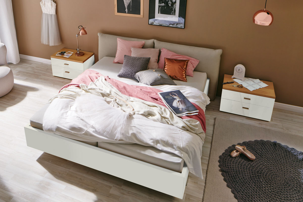 now! no. 14 – Bett | hülsta - Designmöbel made in Germany.