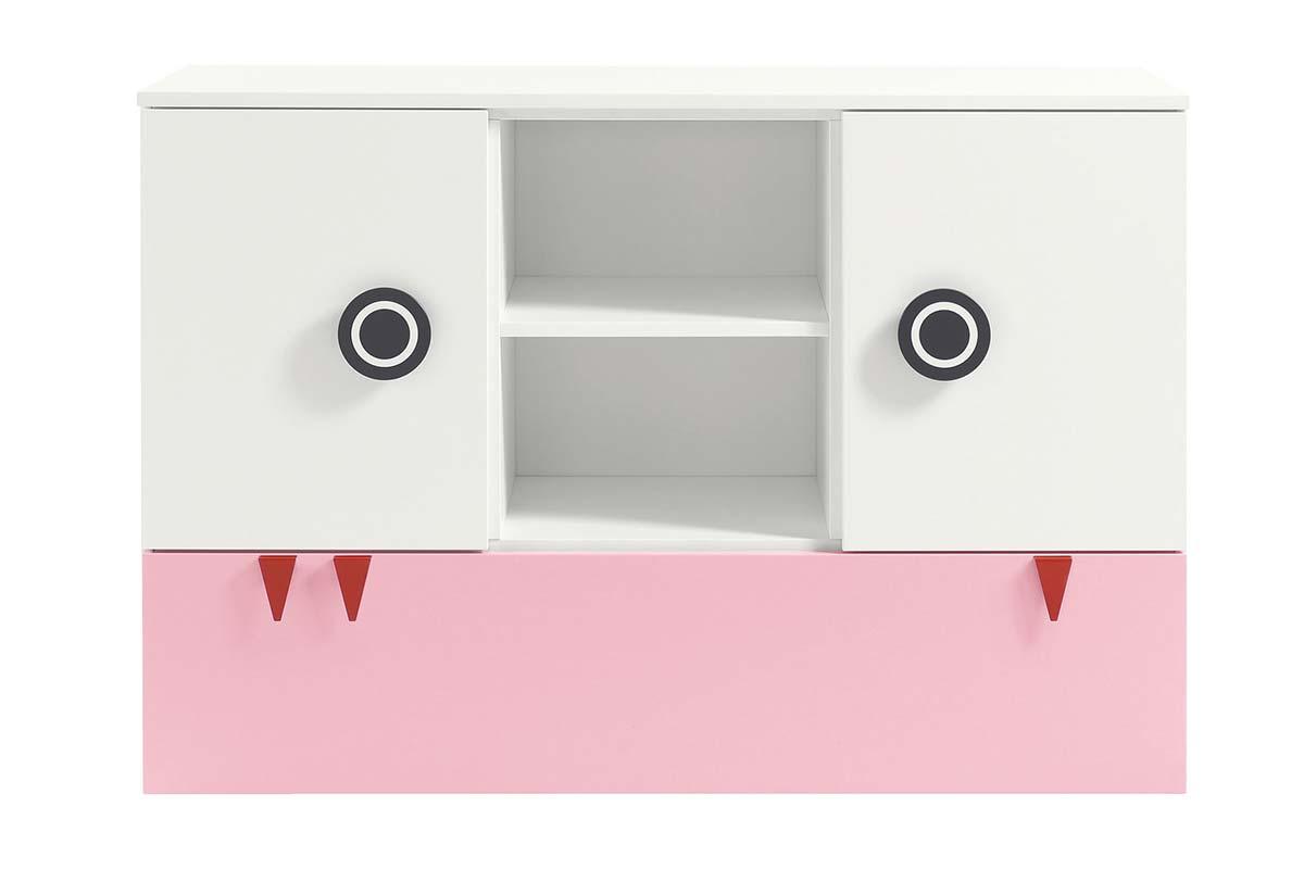 MINIMO – Kommode Breite 135 cm, 2 Türen, 1 Schublade