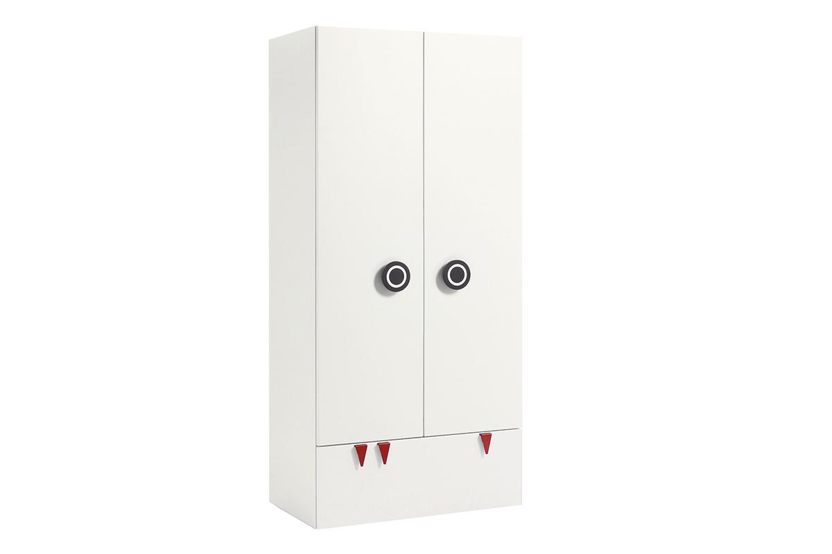 MINIMO – Kleiderschrank, 2 Türen, 1 Schublade
