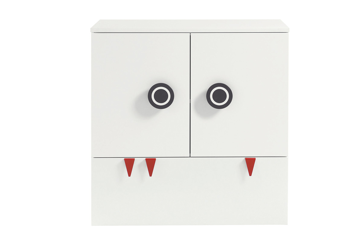 MINIMO – Kommode Breite 90 cm, 2 Türen, 1 Schublade