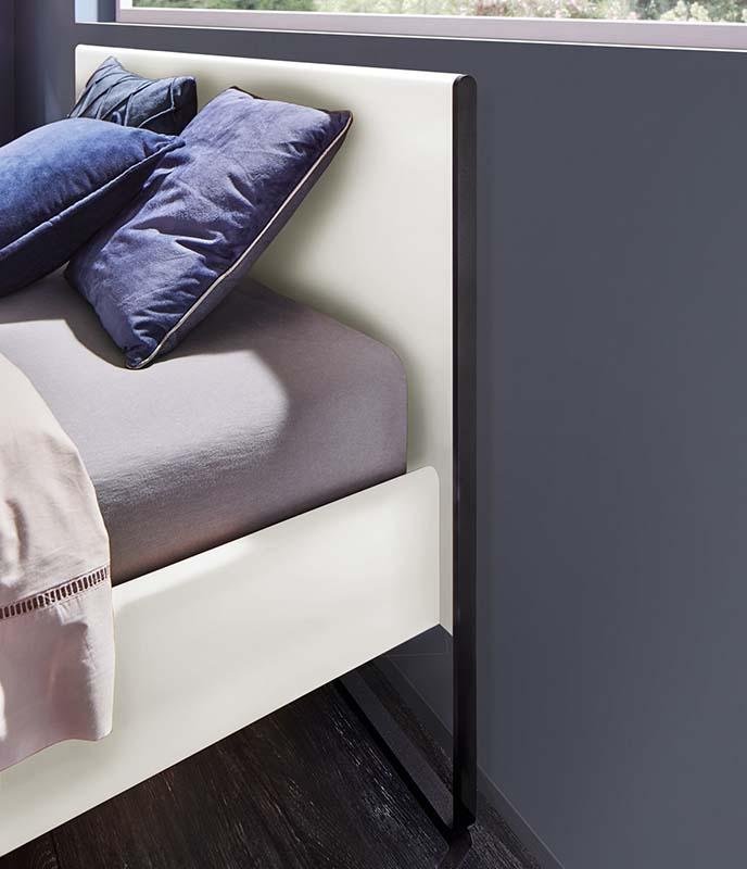 hülsta Neo Schlafen Schlafzimmer Bettkopfteil Lack weiß
