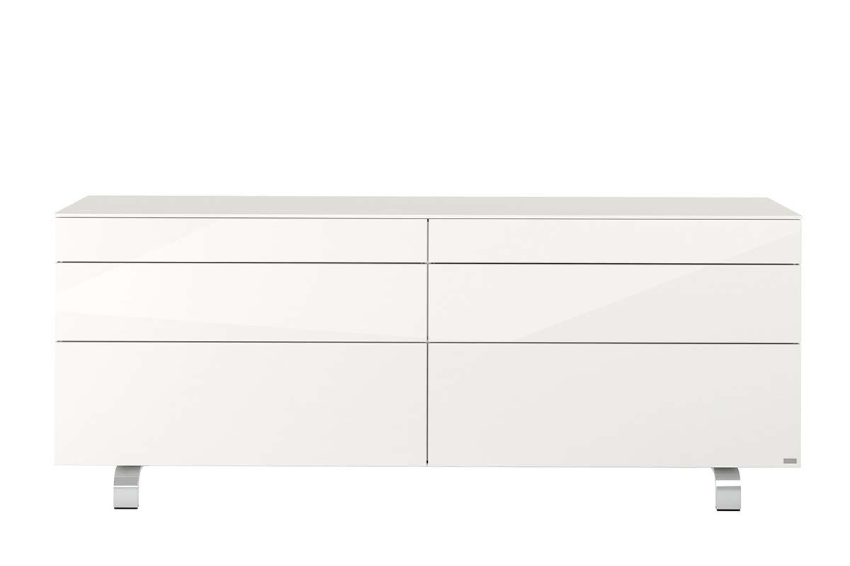 hülsta Neo Wohnen Sideboard mit Metallgestell 980035 Lack Hochg