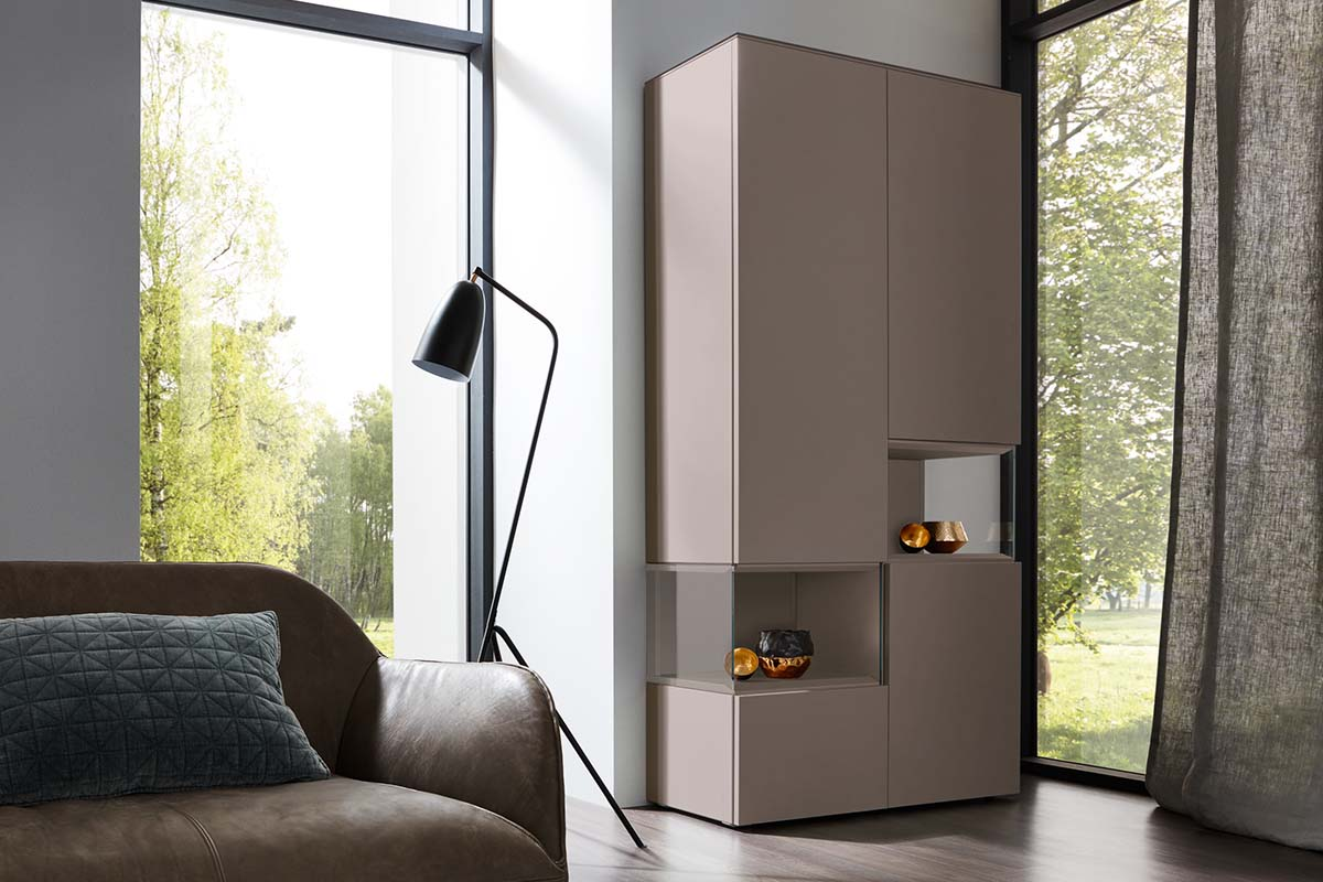 NEO – Glass cabinet (NCS-Colour)