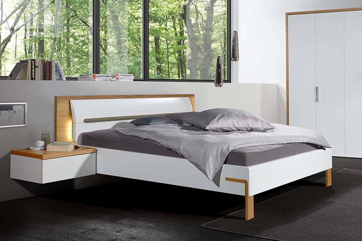 hülsta Dream Schlafzimmer Bette Konsole Kleiderschrank Natureic