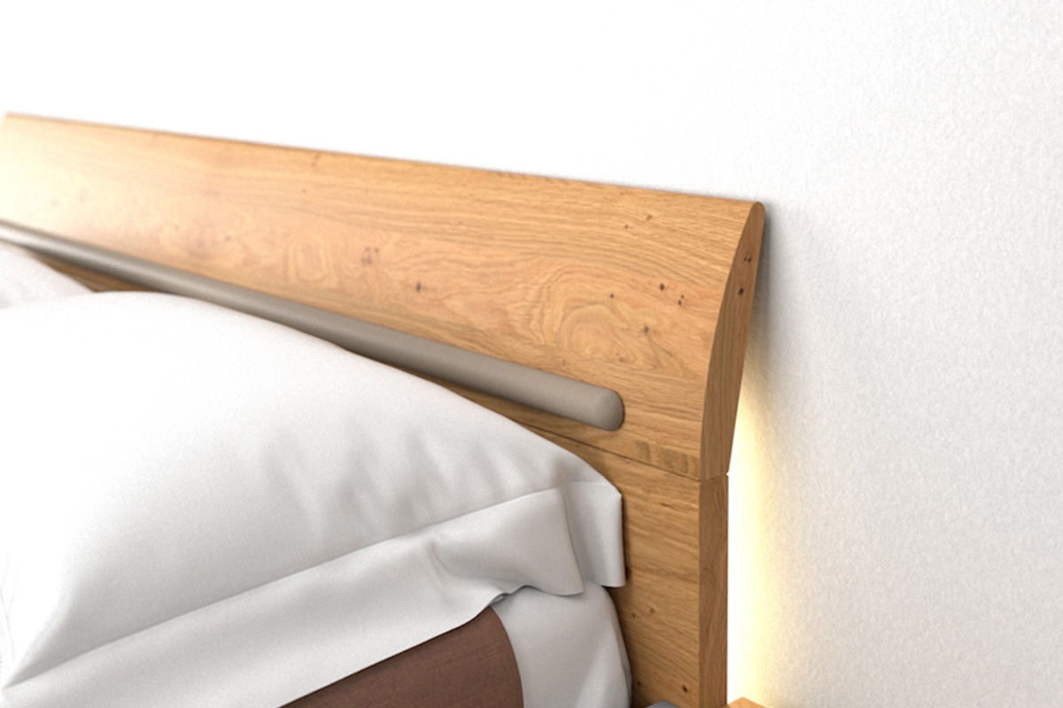 hülsta Dream Kopfteil Schlafzimmer Natureiche