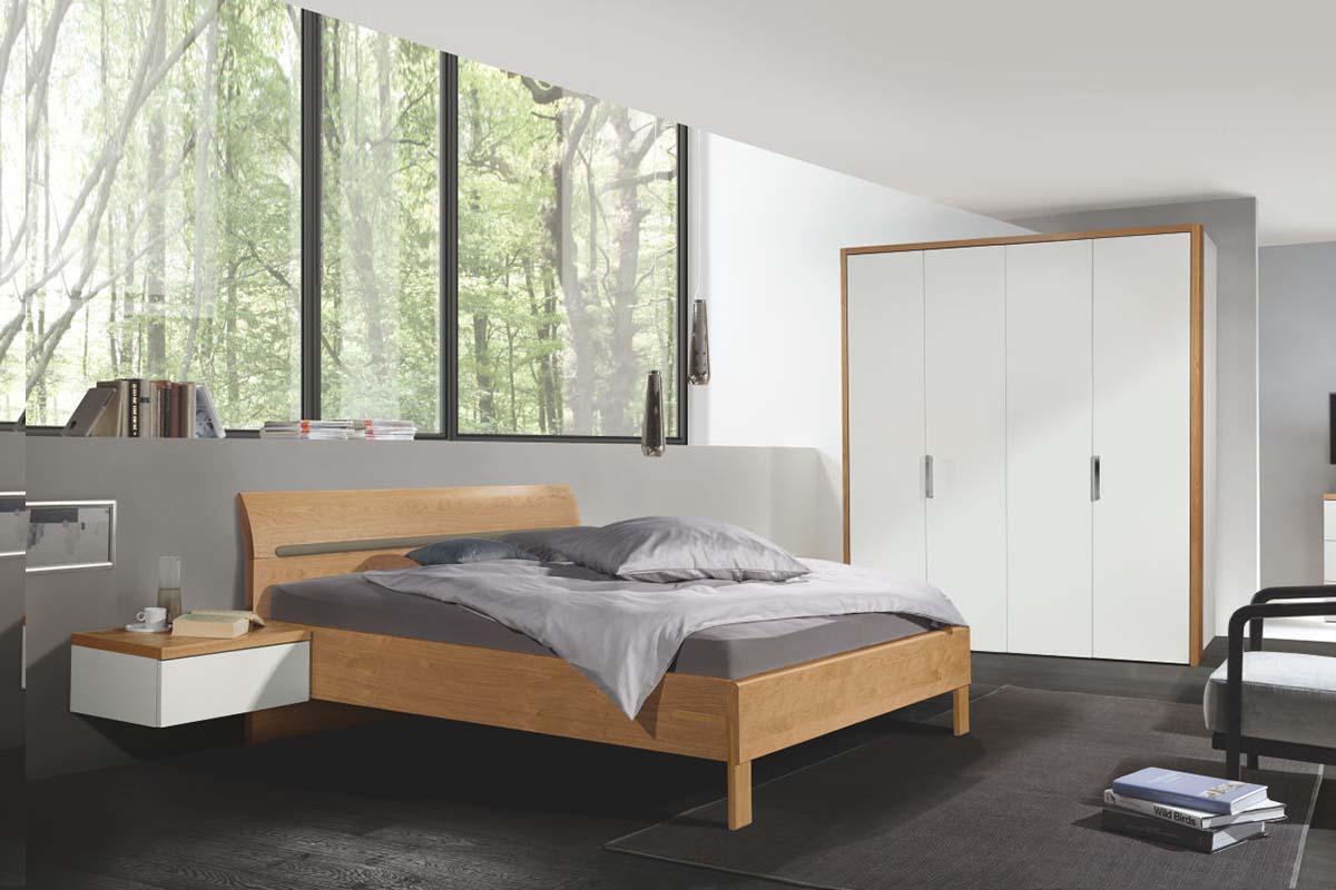 hülsta Dream Schlafzimmer Bett mit Hängekonsole 4-türiger Kle