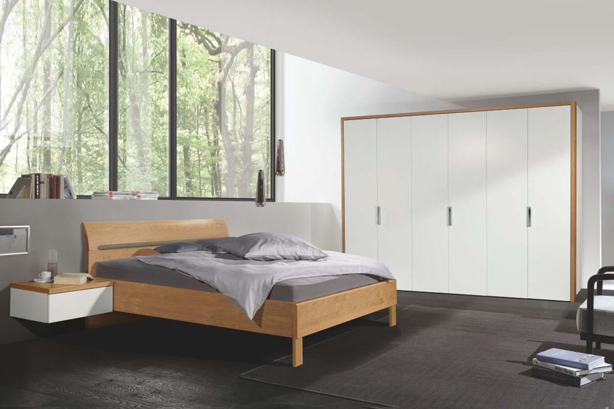hülsta Dream Schlafzimmer Bett mit Hängekonsole 6-türiger Kle