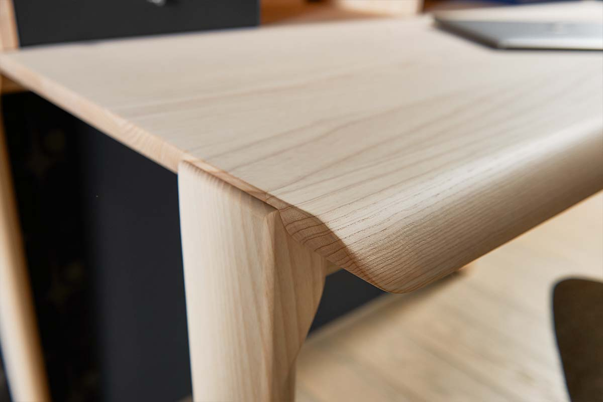 hülsta HOME OFFICE Schreibtisch HO 100 Esche Tischplatte