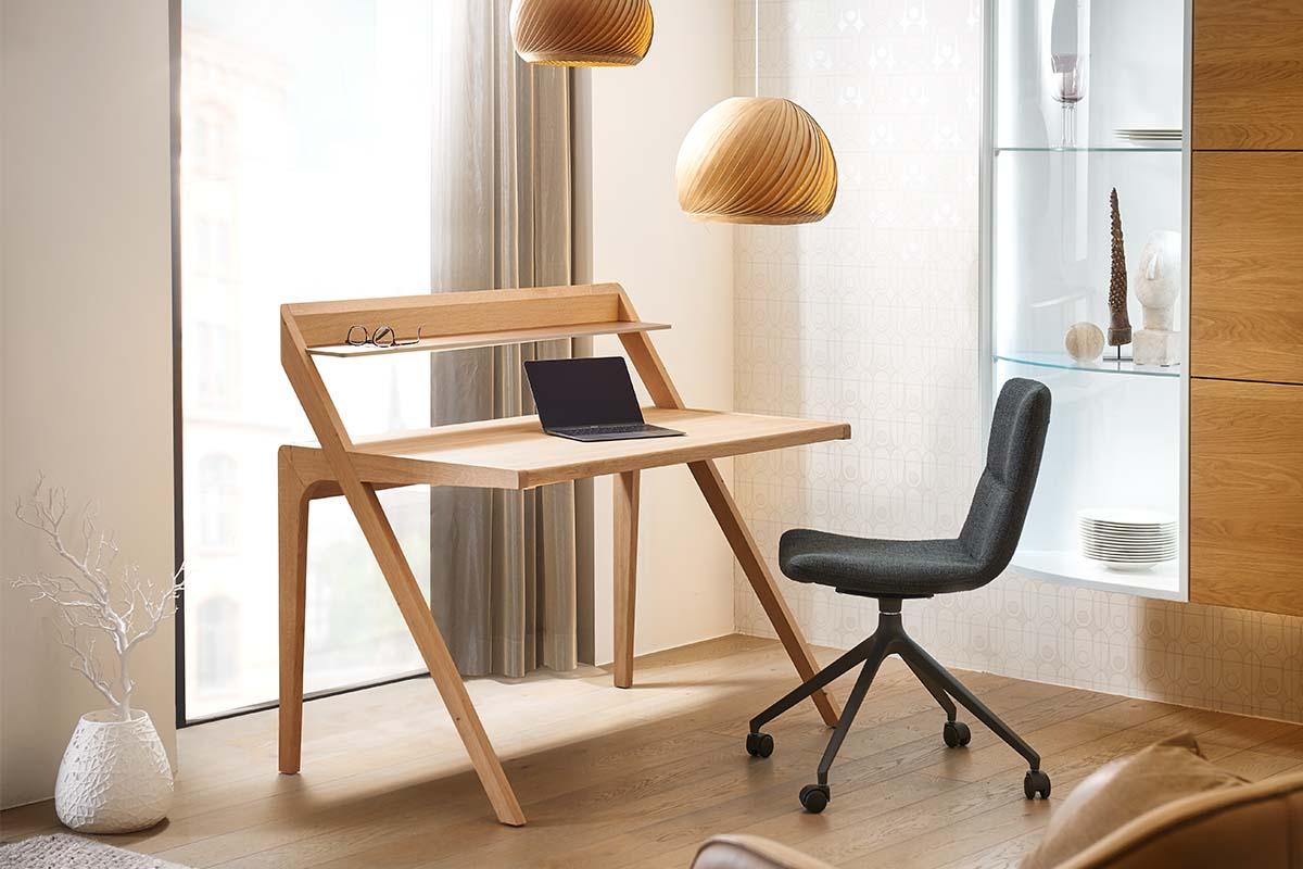 hülsta HOME OFFICE Schreibtisch HO 110 Natureiche