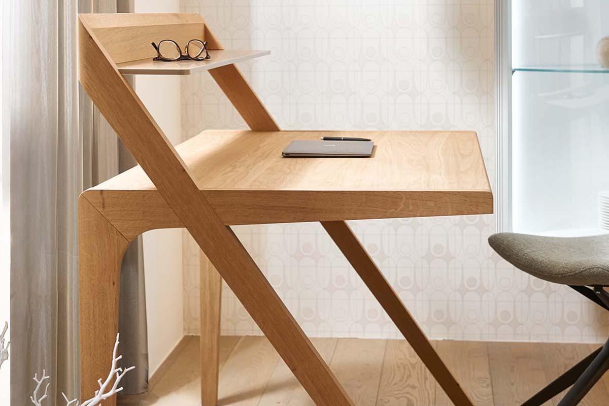 huelsta HOME OFFICE Schreibtisch HO 110 Natureiche